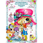 "Pat & The Bestie Bird Lady - My Besties Coloring Book 8.5""X11"" 50 Pages"