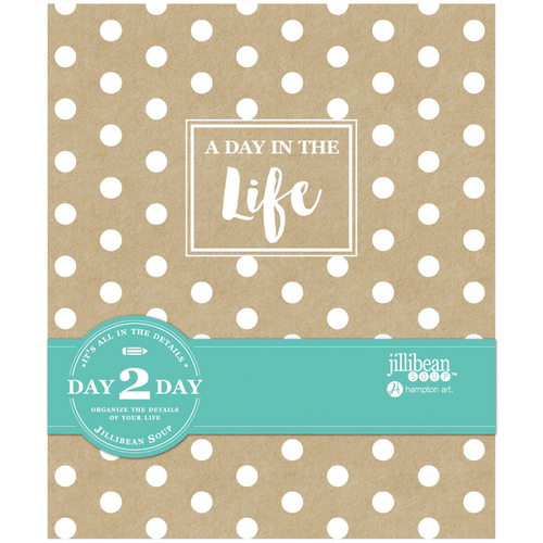"""Day In The Life - Day 2 Day Planner Album 7.5""""X9"""""""
