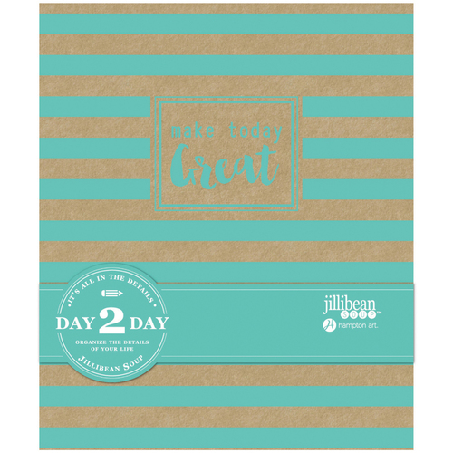 """Make Today Great - Day 2 Day Planner Album 7.5""""X9"""""""