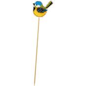 """2.5""""X2"""" 10 Count - Little Birdie Plastic Canvas Kit"""