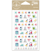 Household - Day 2 Day Planner Puffy Stickers