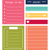 To Do - Day 2 Day Planner Sticky Notes 7/Pkg