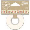 "Floral - Day 2 Day Planner Washi Tape 1""X30'"