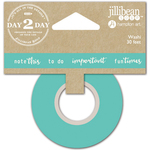 """Note This - Day 2 Day Planner Washi Tape 1""""X30'"""