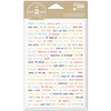 Note To Self - Day 2 Day Planner Clear Stickers