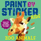 Paint By Sticker Kids Zoo - Workman Publishing