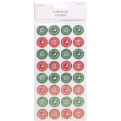 Colour Stamps - Trimcraft Simply Creative Christmas 3D Stickers