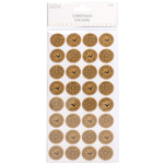 Cork Stamp - Trimcraft Simply Creative Christmas 3D Stickers