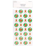 Gingerbread Man - Trimcraft Simply Creative Christmas 3D Stickers