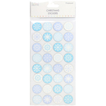 Snowflakes - Trimcraft Simply Creative Christmas 3D Stickers