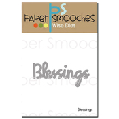 Blessings - Paper Smooches Die