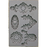 Escucheons #2 - Iron Orchid Designs Vintage Art Decor Mould