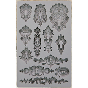 Keyholes - Iron Orchid Designs Vintage Art Decor Mould