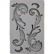 Large Flourish - Iron Orchid Designs Vintage Art Decor Mould