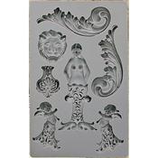 Nautica #2 - Iron Orchid Designs Vintage Art Decor Mould