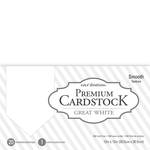 "Great White - Core'dinations Value Pack Smooth Cardstock 12""X12"" 20/Pkg"