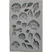 Rustic Fleur - Iron Orchid Designs Vintage Art Decor Mould