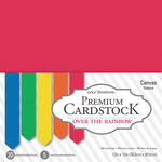 """Over The Rainbow - Core'dinations Value Pack Smooth Cardstock 12""""X12"""" 20/Pkg"""
