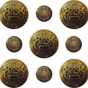 Ornate Buttons - Ken Oliver Vintage Embellishments