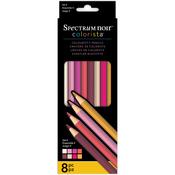 Set 4 - Spectrum Noir Colorista Pencils 8/Pkg -