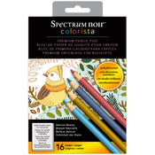 Natural Beauty - Spectrum Noir Colorista Pencil Pad W/ Foil