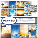 "Devoted Faith - Reminisce Collection Kit 12""X12"""