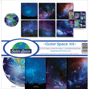 "Outer Space - Reminisce Collection Kit 12""X12"""