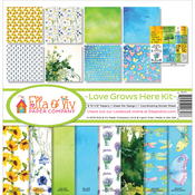 "Love Grows Here - Ella & Viv Collection Kit 12""X12"""