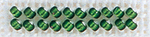 Green Velvet - Mill Hill Petite Glass Seed Beads 2mm 1.6g