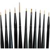 Majestic Detail Brush Set 11/Pkg