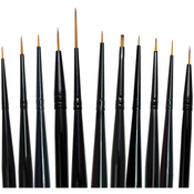 Majestic Detail Brush Set 11/Pkg