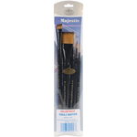 Majestic Watercolor Deluxe Paint Brush Set 5pcs