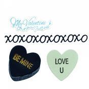 My Valentine - Sizzix Framelits Dies W/Stamps By Lindsay Serata