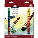 Assorted Colors - Watercolor Paints 12ml 24/Pkg