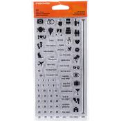 """Life Moments - Fiskars Clear Stamps 4""""X8"""""""