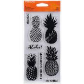 """Aloha - Fiskars Clear Stamps 4""""X8"""""""