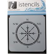 "Classic Compass - iStencils 11""X11"""