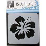 """Hawaiian Hibiscus - iStencils 11""""X11"""""""