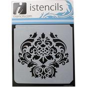 "Classic Damask - iStencils 11""X11"""