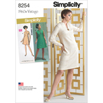 20W-28W - Simplicity Misses / Plus Size Dress 8254