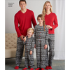 XS - L / XS - XL - Simplicity Unisex Sleepwear 8269