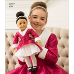ONE SIZE - Simplicity Doll Clothes 8280
