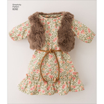 ONE SIZE - Simplicity Doll Clothes 8282
