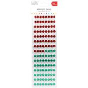 Red & Green - Simply Creative Gems 10mm, 180/Pkg