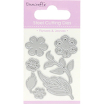 Flowers & Leaves, 7/Pkg - Dovecraft Value Die