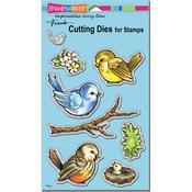 Spring Tweets - Stampendous Dies