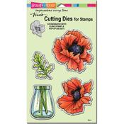 Pretty Poppies - Stampendous Dies