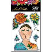 Blossoming Woman - Stampendous Dies