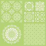 """Intricate Tiles - Kaisercraft Designer Template 12""""X12"""""""
