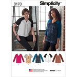 6-8-10-12-14 - SIMPLICITY MISSES' EASY TO SEW TUNICS AND TOPS